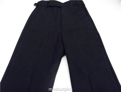 Collectibles British Royal Navy Rn Class Ii Black Flared Bell Bottom Sailors Trouser
