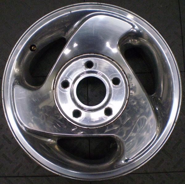 "2104 Dodge RAM 1500 16"" Factory Alloy Wheel Rim Pol B"