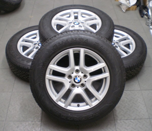 BMW X5 17 FACTORY OE ALLOY WHEELS RIMS TIRES SPECTOR ADVANTA SUV (4