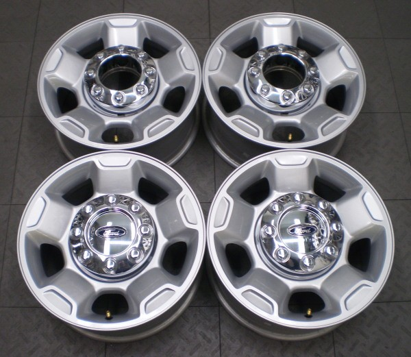 "3829 Ford F250 F350 17"" Factory Alloy Wheels Rims 4"