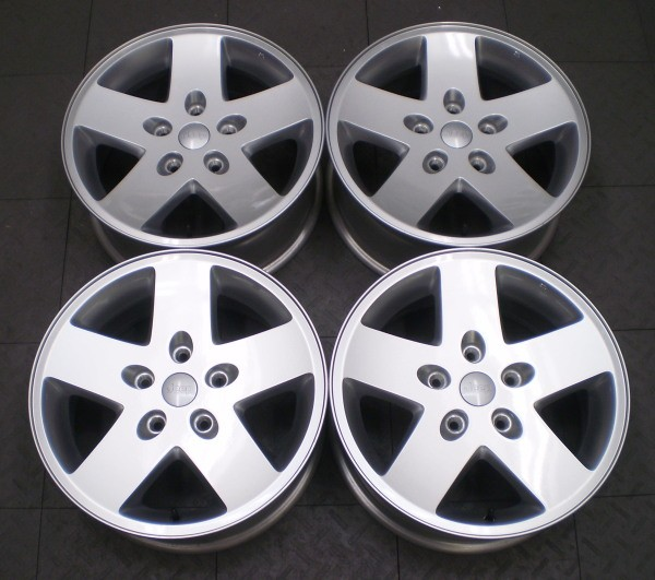 ee8274a1dcc 9074 Jeep Wrangler Rubicon 17 Factory OE Alloy Wheels Rims G4 on ...