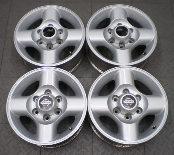 "62384 Nissan Frontier Xterra 16"" Factory Alloy Wheels Rims 4"