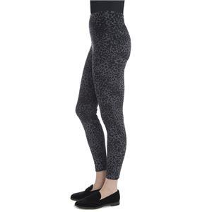 5129ea11d Lysse Black Leopard Denim Toothpick Tight Ankle Leggings Animal Print Pants