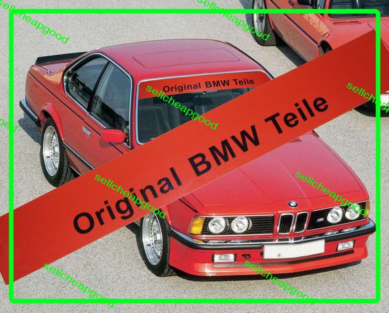 original bmw teile windshield decal m3 e30 dtm e24 m6 m. Black Bedroom Furniture Sets. Home Design Ideas
