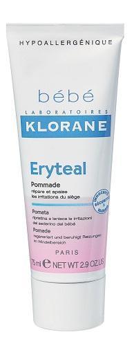 Klorane Eryteal Ointment 75ml Diaper Changing Repair Anti