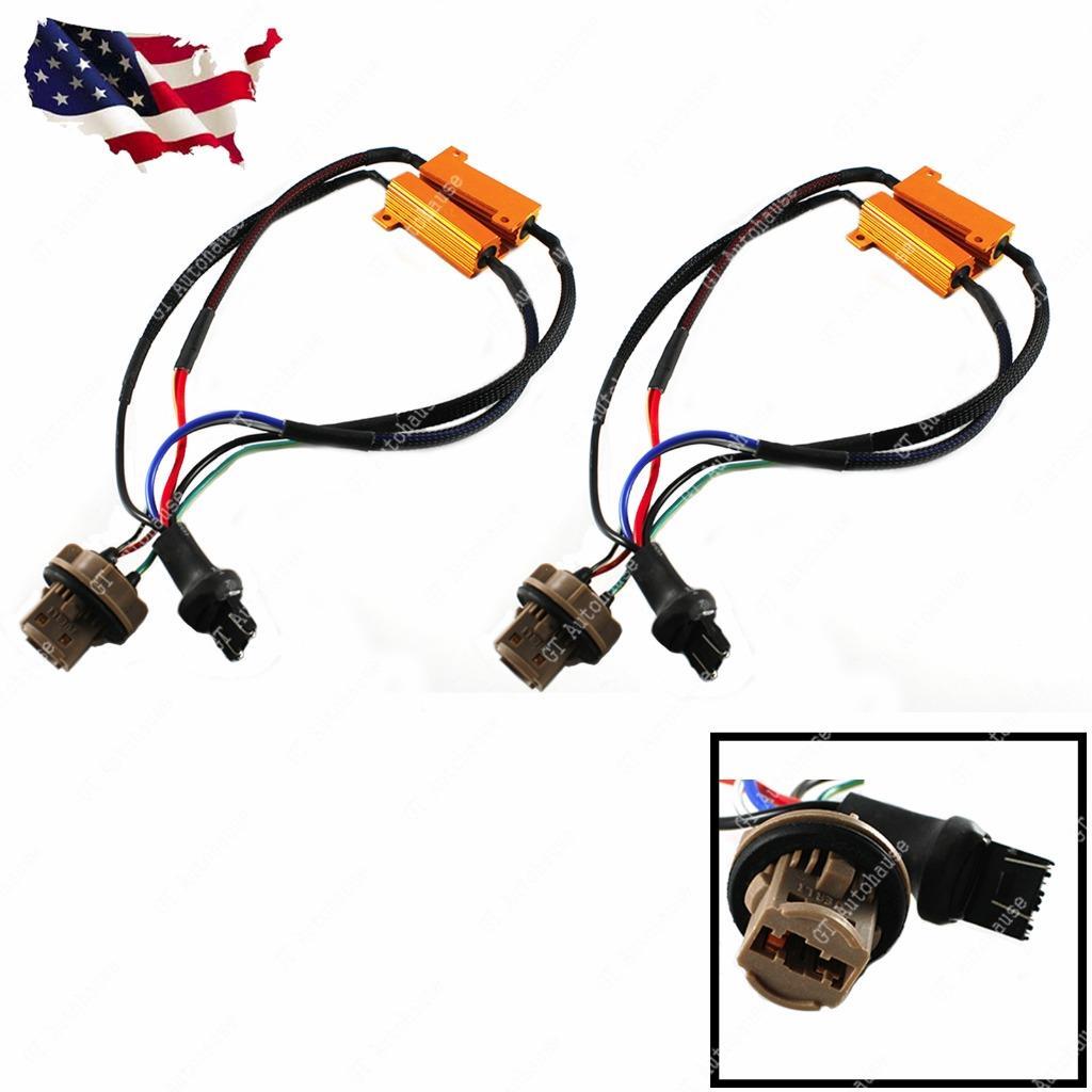 2x 7443 7444 Load Resistor Hyper Flash Canceller