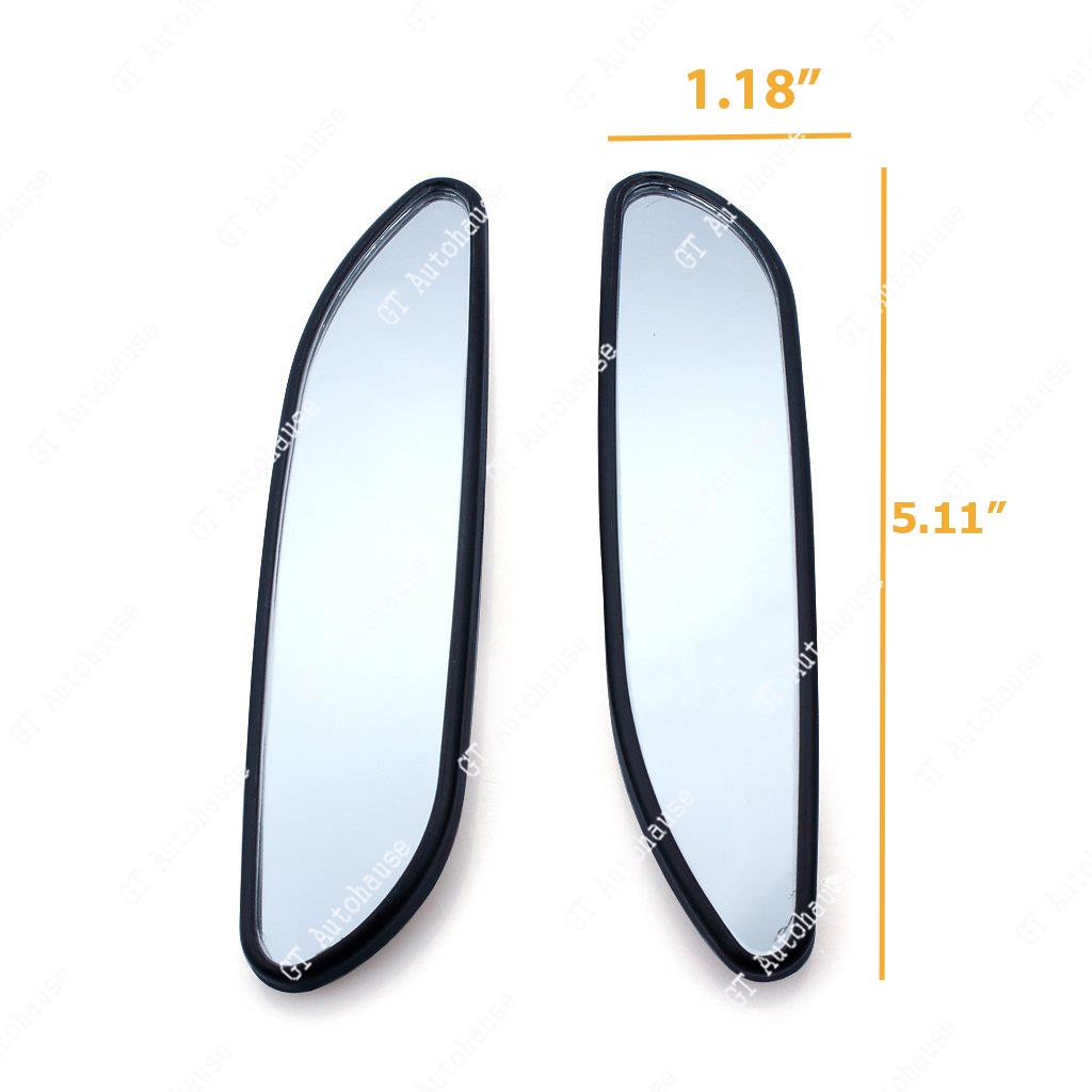 5 Quot Adjustable Stick On Auxiliary Rear View Blind Spot Wide