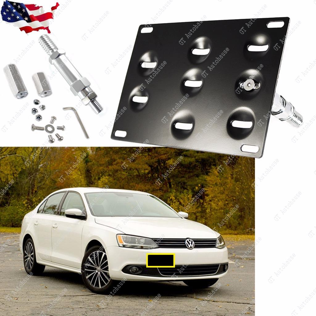 License Plate Front Bumper Mount Bracket Holder Volkswagen