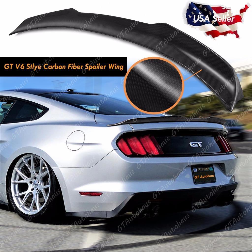 2015 2017 Ford Mustang Rear Trunk Lid Spoiler Wing Gt