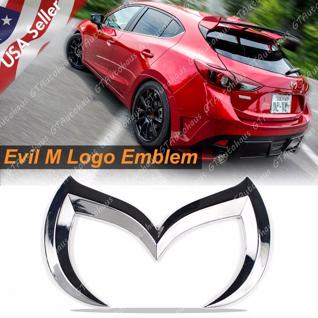 Mazda 3 badges