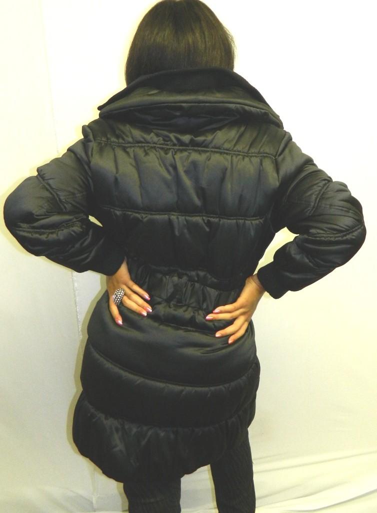 Baby Phat Goth Punk Urban Satiny Trench Coat Black Long Jacket 2X on ... 47c988a62