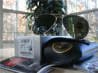 847e1671f6 New Ray Ban Aviator Sunglasses RB3026 Gold   G-15 XLT size 62 mm in stock  in USA