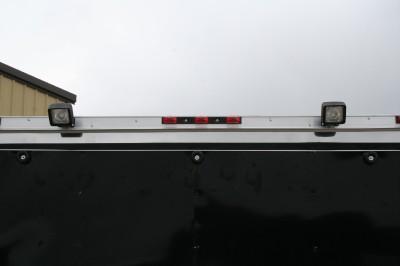 5X24 ENCLOSED CARGO ENCLOSED CAR AUTO HAULER RACE TRAILER RACER