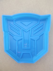 30cm Transformers Silicone Cake Pan Large Baking Tray
