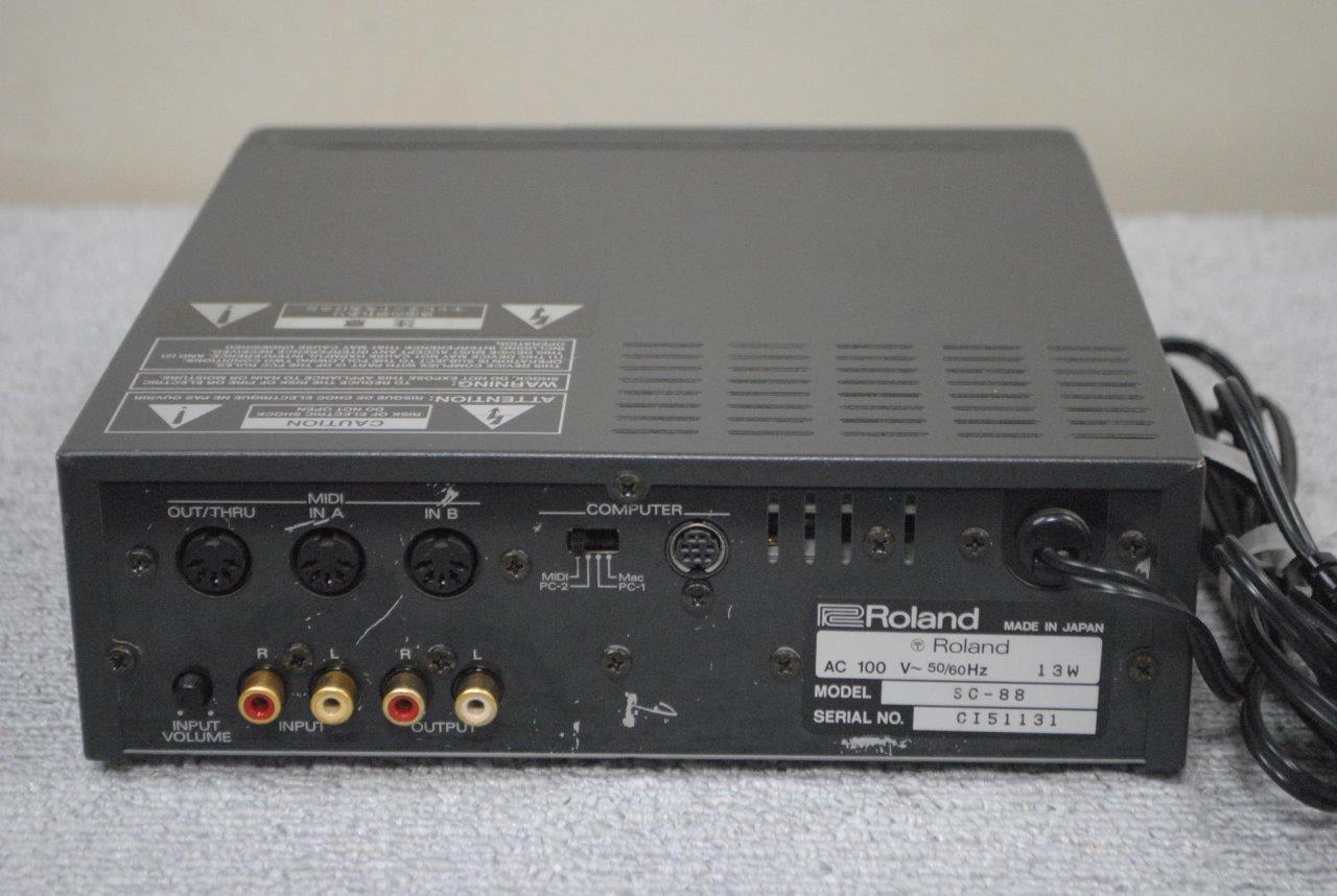 roland sound canvas sc 88 midi sound module made in japan sc88 ebay. Black Bedroom Furniture Sets. Home Design Ideas