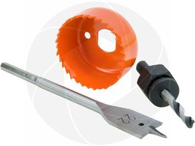 Bi-Metal Hole Saw door lock installation kit Hole Cutter 25mm 54mm