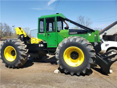 Details about 1995 Timberjack 450C Cable Skidder - Good Condition