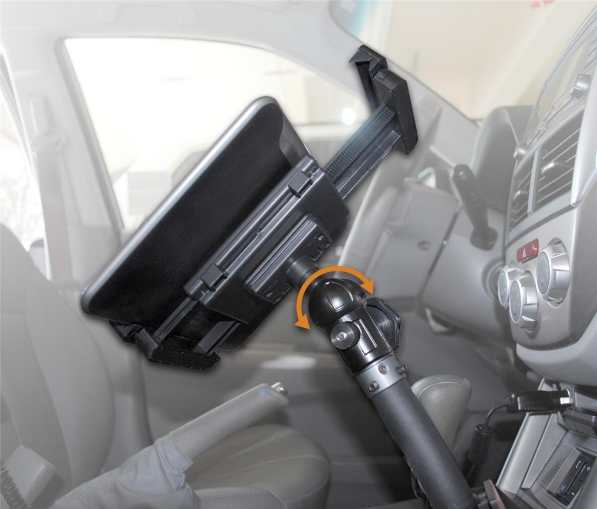 Car Seatbolt Tablet Smartphone Mount Holder For Ipad Galaxy Kindle