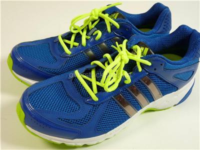 New Men s Adidas Duramo 5 Course Running Shoes G96535 Blue Electricity Sz 9 dbbc7e8a1