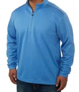 New pebble beach performance golf 1 4 zip pullover for Pebble beach performance golf shirt