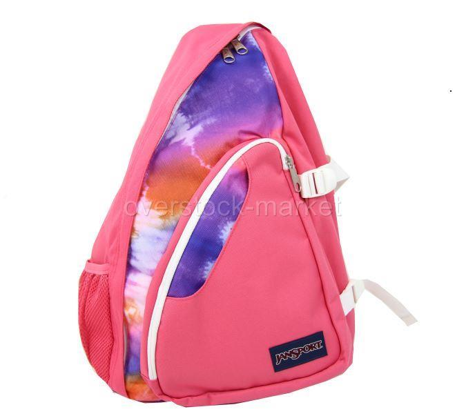 JanSport Air Cisco Sling Bag Girls Shoulder Bag Pink Prep Hippy ...
