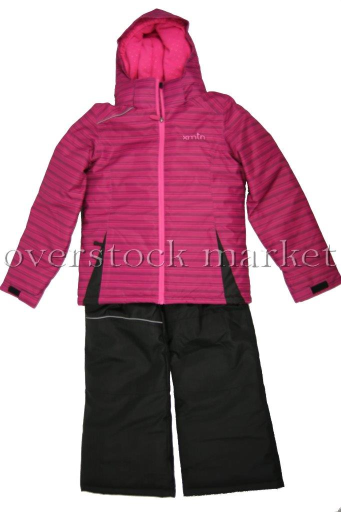 New Xmtn Girls Winter Coat Amp Bib Pant Set Ski Boarder Snow