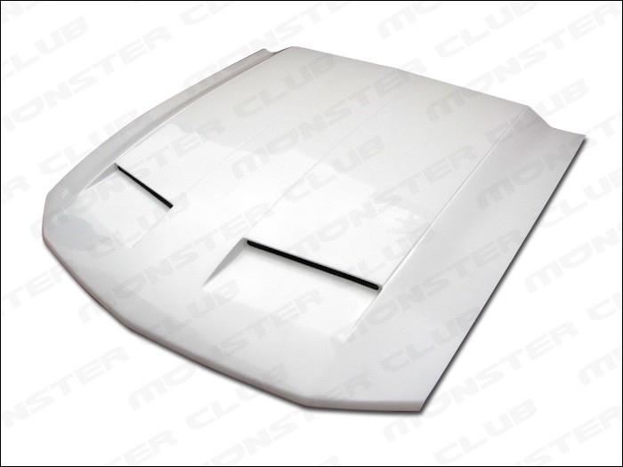 Punisher Mustang Functional RAM Air Fiberglass Hood New