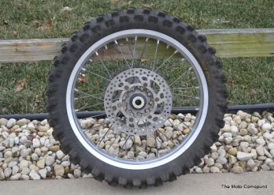 YZ450F YZ125 YZ250F YZ250 Rear Back Wheel Tire Rim Hub Spokes