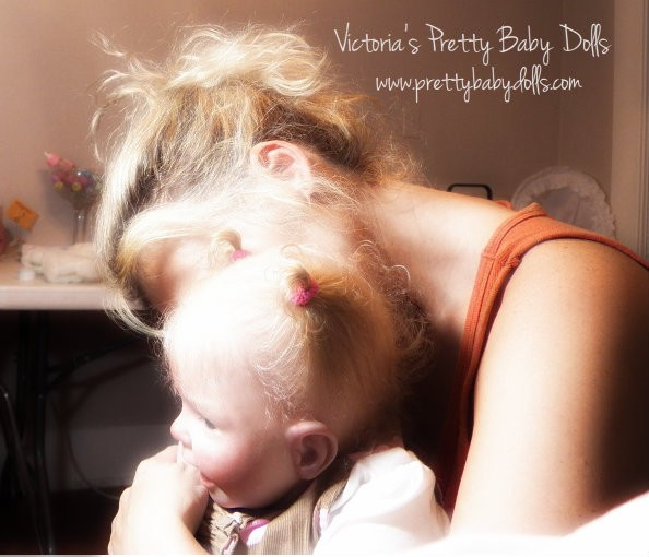 Victoria S Pretty Baby Dolls Ooak Reborn Baby Doll Lilly