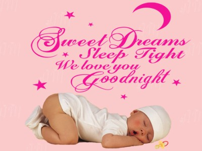 Kids Wall Quote Decalsweet Dreams Sleep Tightwe Love Yougood