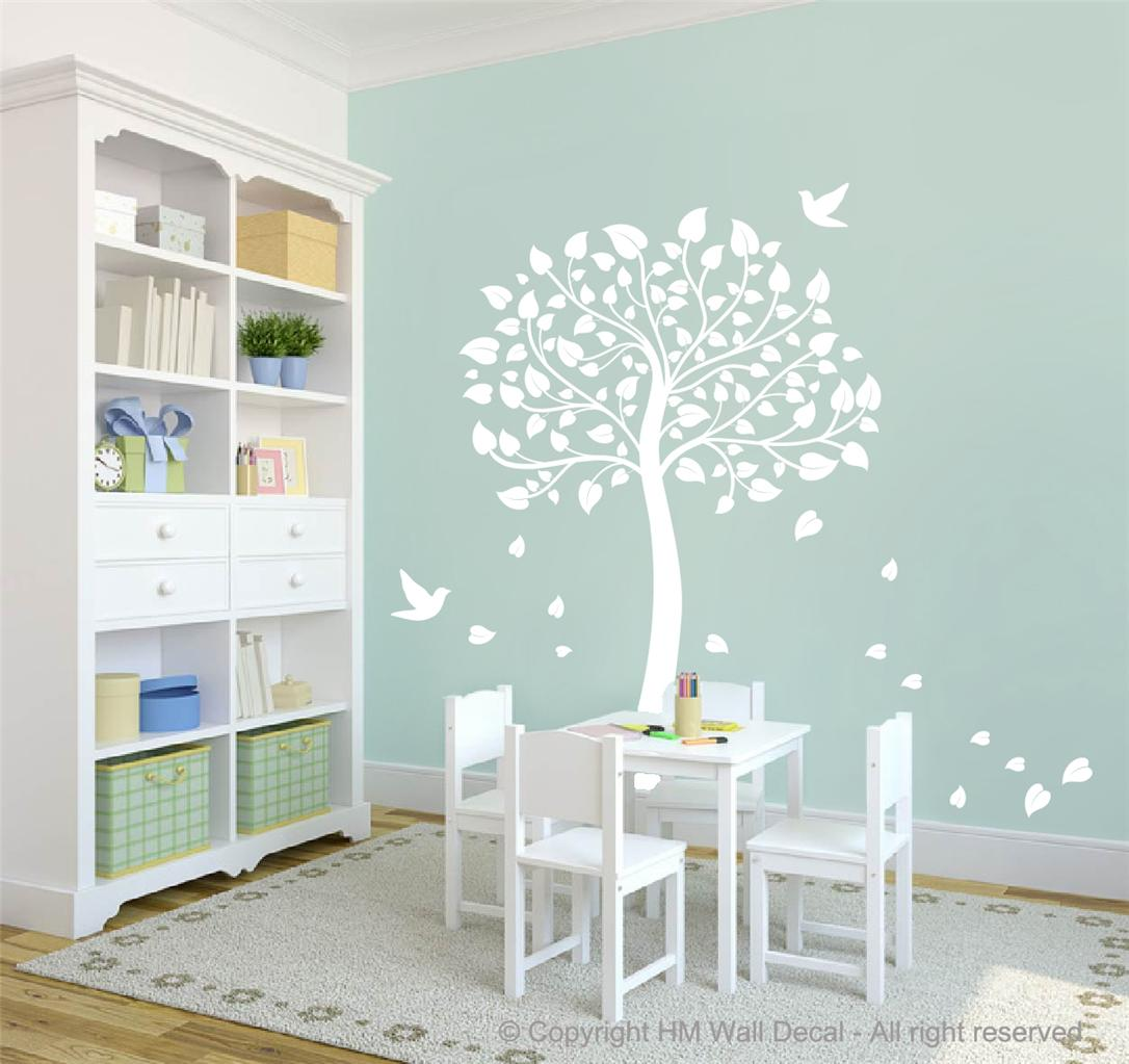 cot side tree for nursery or kids room diy removable wall decal ebay