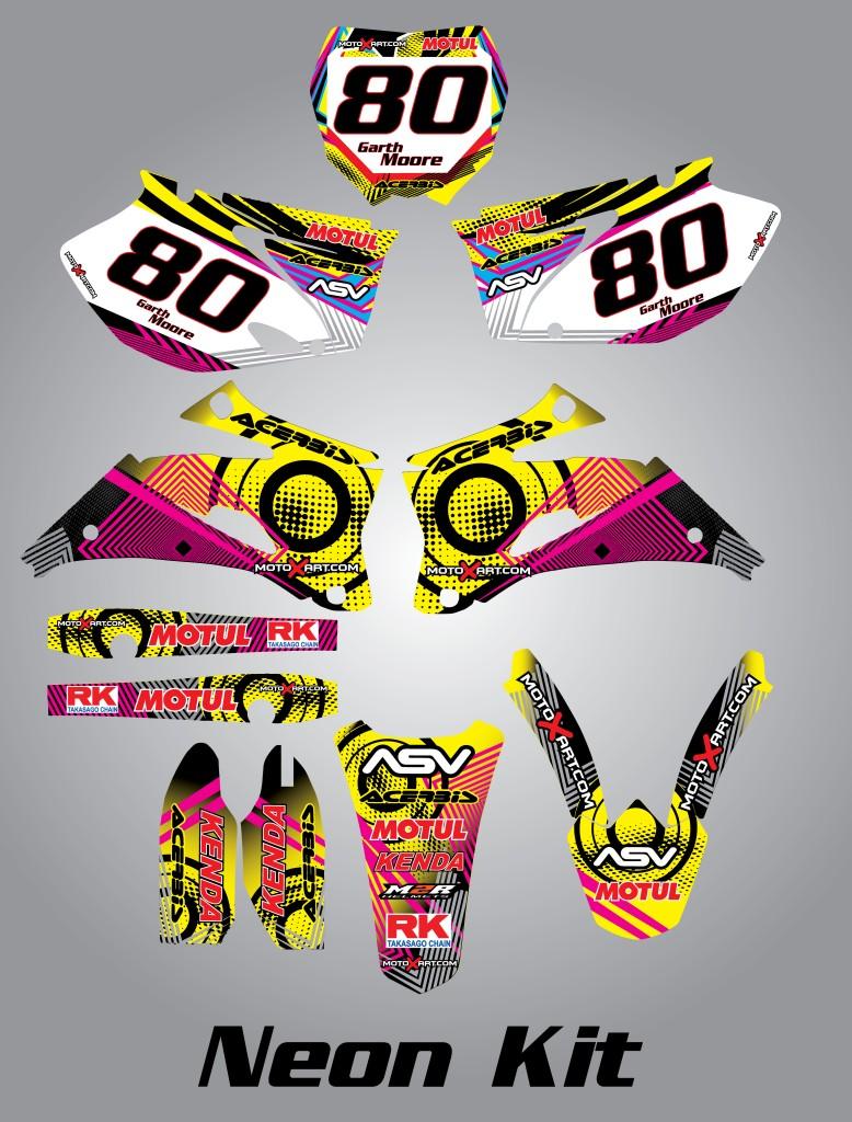 Details about Full Custom Graphic Kit LEM RX 65 2008 - 2011