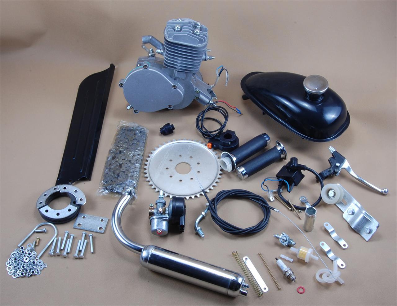 2 takt 80cc v lo moteur motorset fahrrad benzin hilfsmotor 2 stroke motor ebay. Black Bedroom Furniture Sets. Home Design Ideas