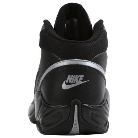 d1fa34396b33 NIKE OVERPLAY IV Black Silver Basketball 318853 002 Men on PopScreen