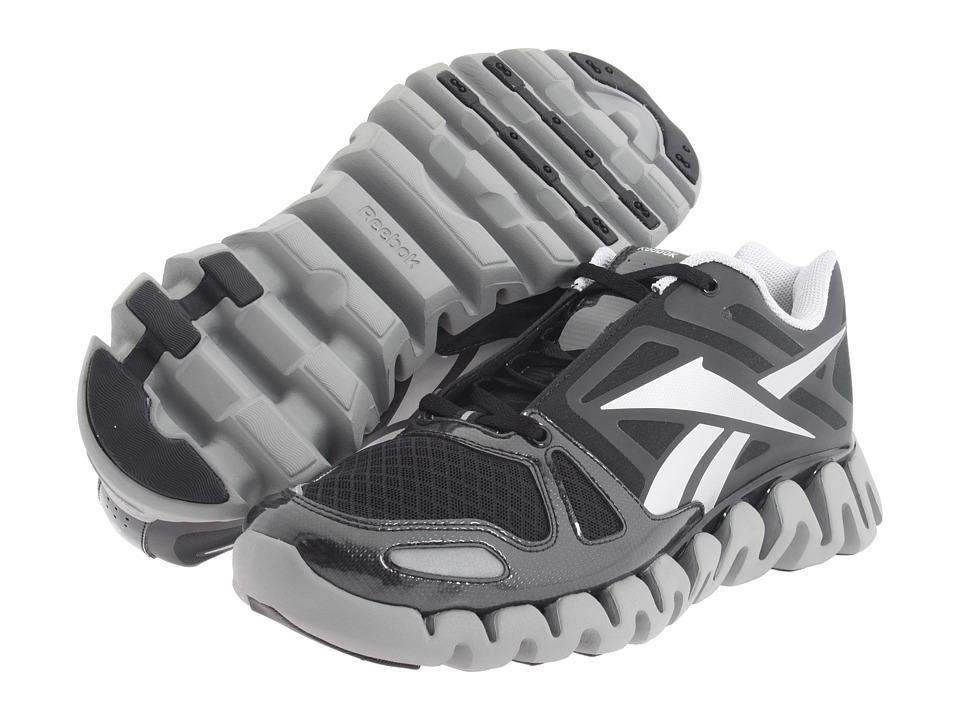9aaf5c1523b5 REEBOK ZIGTECH ZIG DYNAMIC Black Pure Silver Running J 81251 MEN on ...