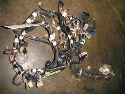 1985 1986 toyota mr2 cowl   dashboard wiring harness mr2 engine wiring harness k20 mr2 wiring harness