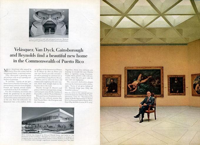 1966 Commonwealth Of Puerto Rico Museum Designer Edward