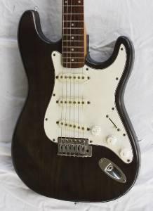 jcx stargazer electric guitar brown wood grain. Black Bedroom Furniture Sets. Home Design Ideas