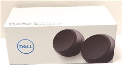 Desktop Black GENUINE Dell AE215 2.0 Speaker System 5 W RMS
