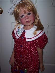 Reborn Masterpiece Monika Levenig 42 Quot Vinyl Doll Ebay