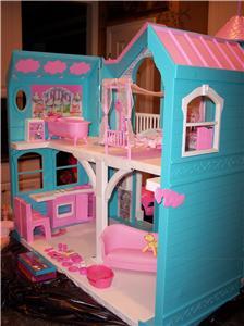 Hard To Find Barbie Victorian Dream House Mansion Working