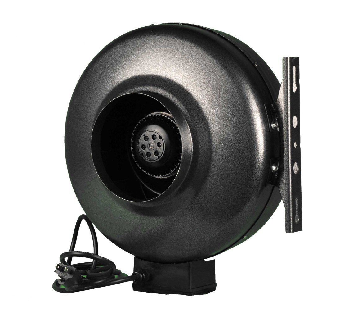 6 Inch Hydroponic Inline Exhaust Vent Fan Duct Blower Ebay