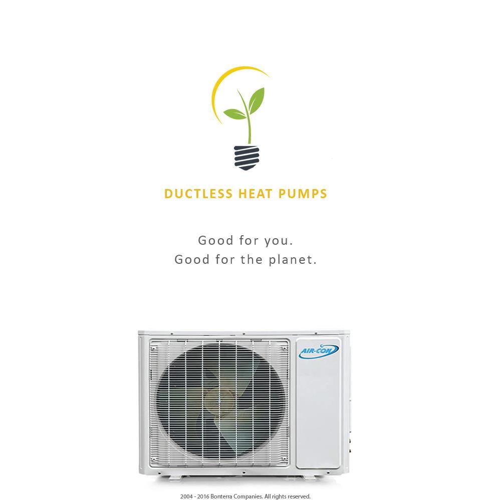 12000 Btu Ductless Ac Mini Split Air Conditioner Heat Pump