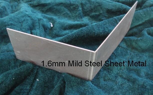Metex 300mm Sheetmetal Folder Vice Held Sheet Metal