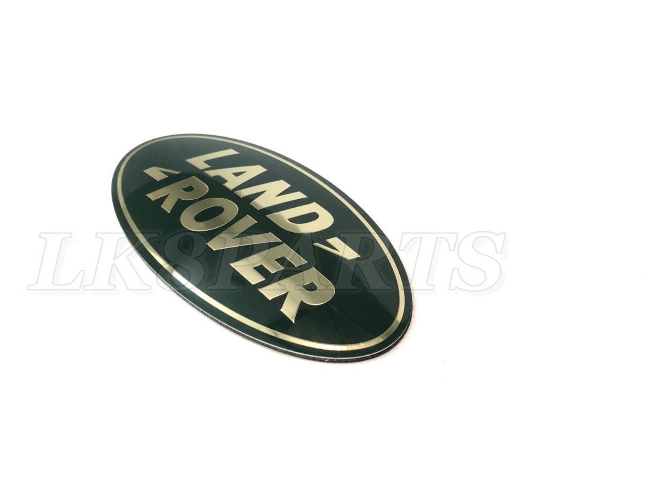 LAND ROVER FREELANDER 96-06 GRILLE BADGE GREEN ON GOLD GENUINE  DAG100330