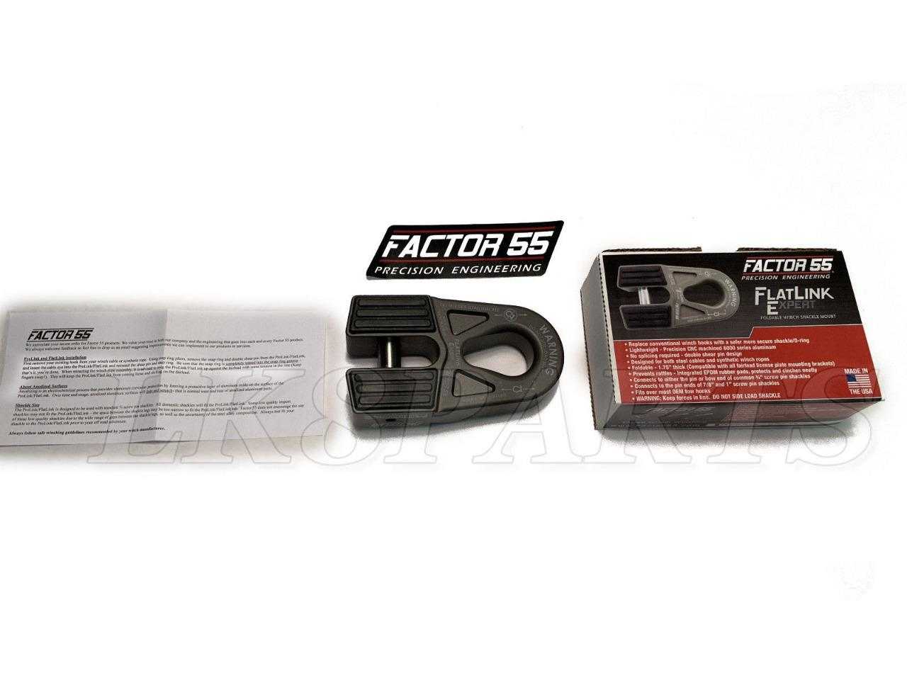 Factor 55 00080-06 Winch Shackle Mount