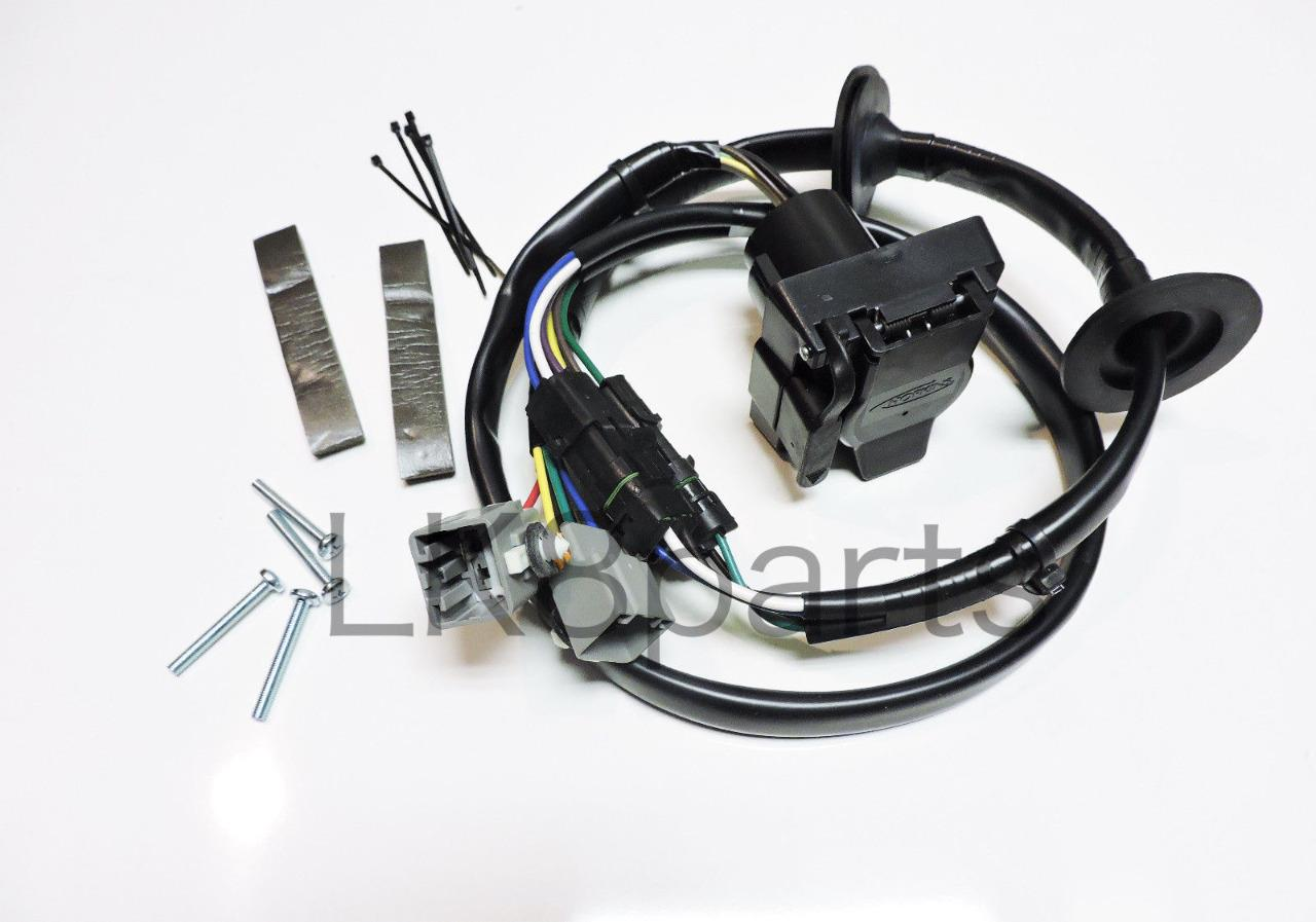 Lr4 Trailer Wiring Harness Reinvent Your Diagram Kit Land Rover Tow Hitch Wire 10 12 Rh Ebay Com