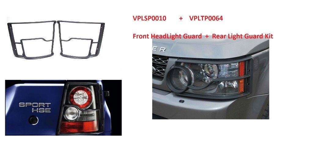 LAND ROVER LR4 REAR TAIL LAMP GUARDS SET KIT VPLAP0009 GENUINE NEW