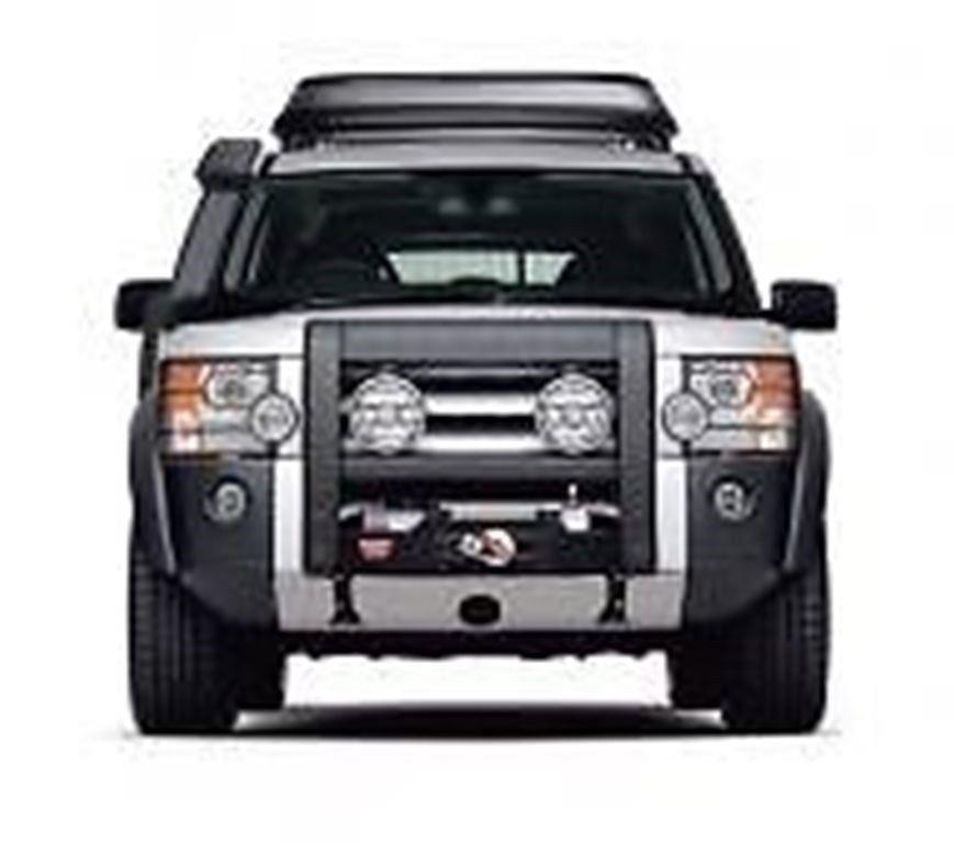 land rover lr3 steel bumper