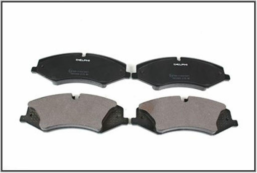 Replacement  4 Disc Brake Pads Front Fits 10-12 Land Rover Range Rover L4 5.0 V8